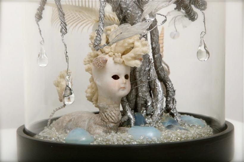 The Haunted Lamp bell jar 4