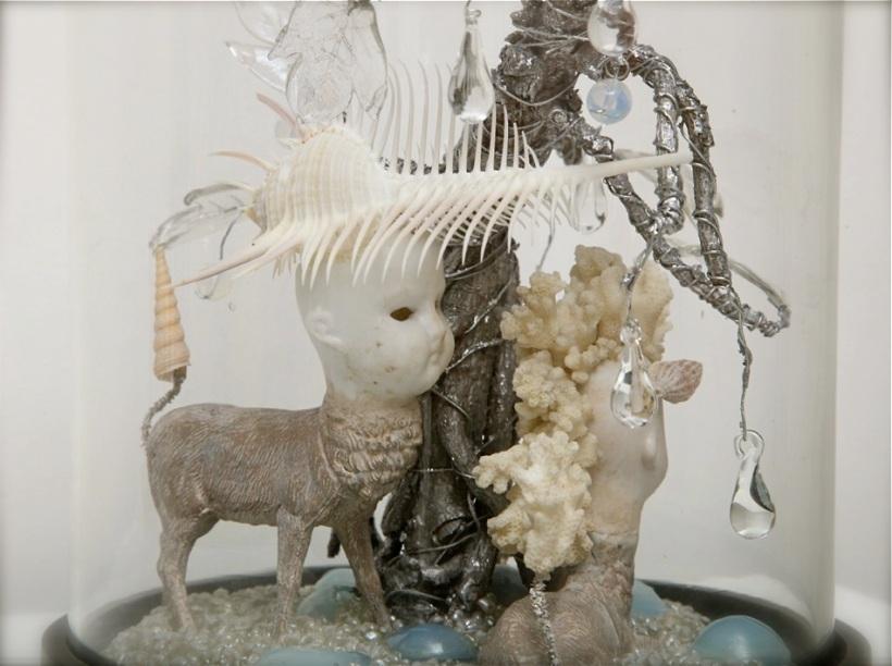 The Haunted Lamp bell jar denizens nocturnal