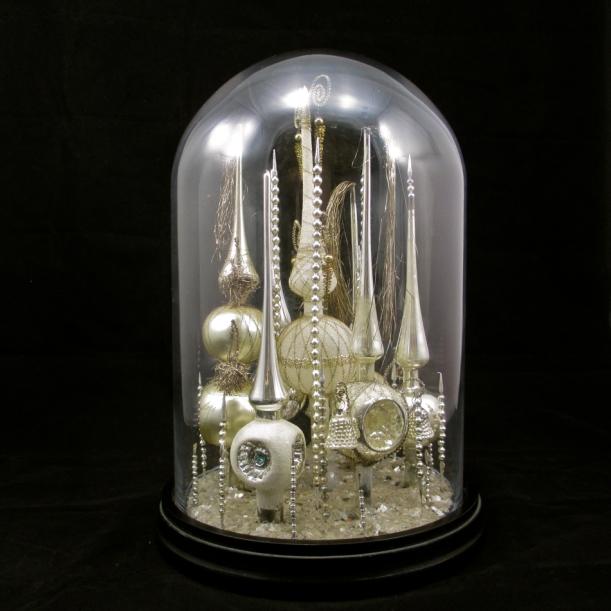 Christmas Bell Jar Antique
