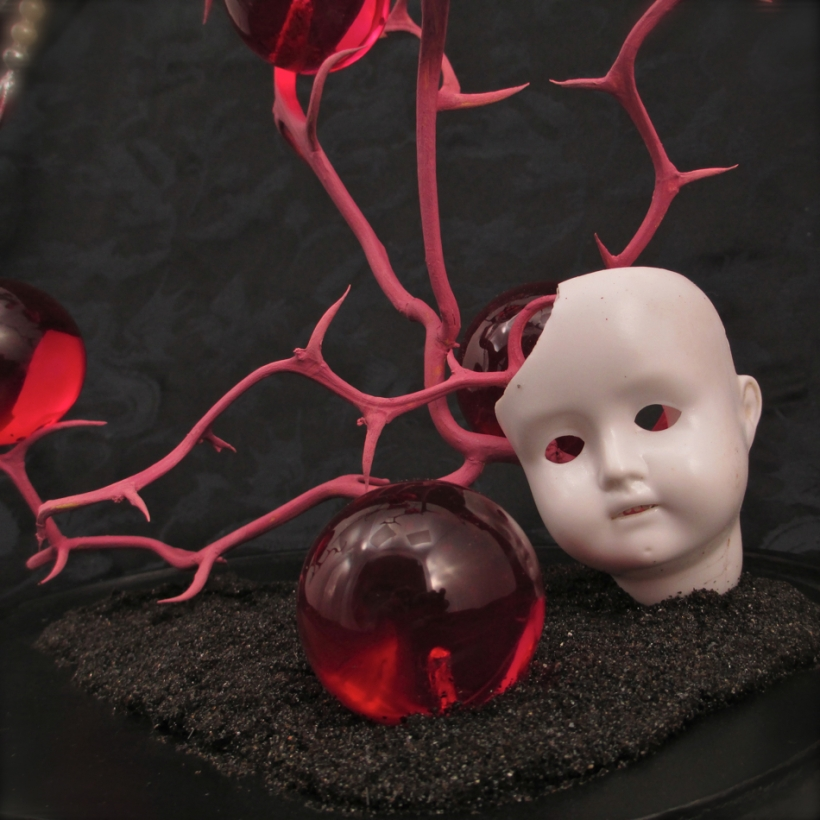 antique doll head