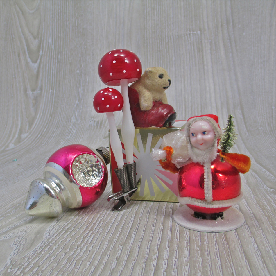 retro christmas decorations for sale photograph vintage ch