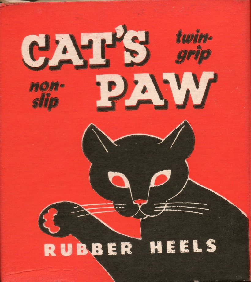 Cat's Paw Rubber Heels