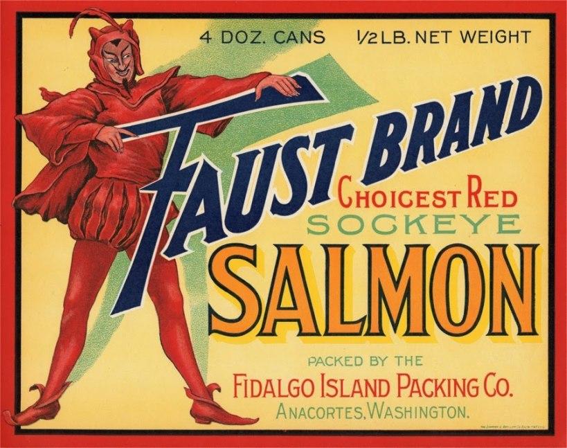 Faust Brand Salmon