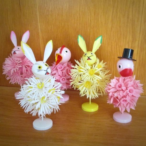 Vintage Easter Plastic